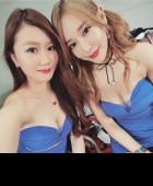 Shizuka and Vanessa